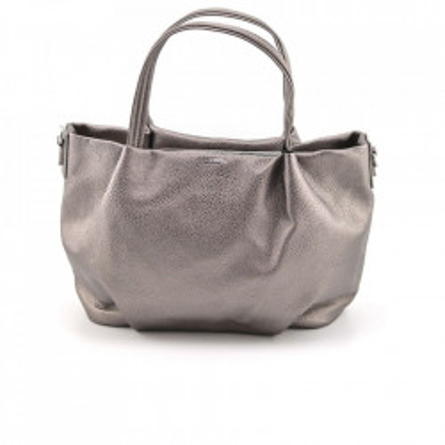 Ženska torba T080015 tamno srebrna