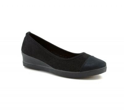 Ženske cipele / mokasine L80840-1 crne