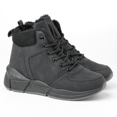 Ženske poluduboke cipele LH051400 crne