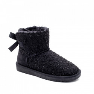 Ženske poluduboke čizme LH051253 crne