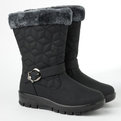 Zimske poluduboke čizme CA541 crne