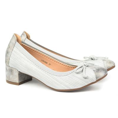 Cipele na malu štiklu L761928 sive