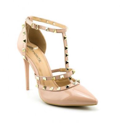 Cipele na štiklu L91451 bež