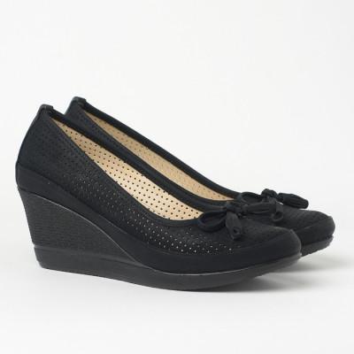Cipele sa platformom 845 crne