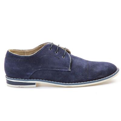 Kožne cipele 4464 teget