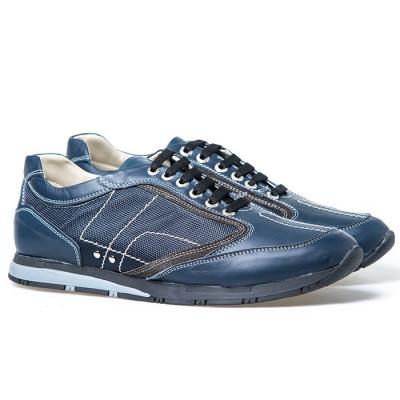 Kožne cipele/patike 24122 teget