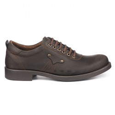 Kožne muške cipele 19167 braon