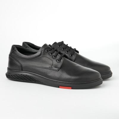 Kožne muške cipele 209539-290539 crne