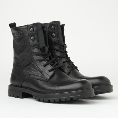 Kožne muške duboke cipele 51551 crne
