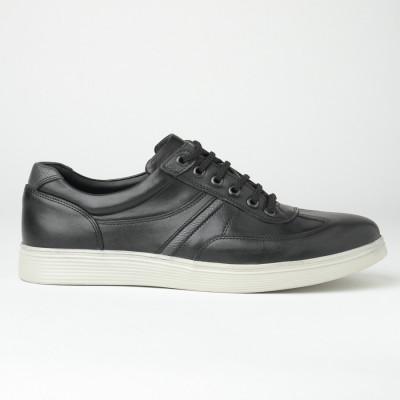 Kožne muške patike/cipele 20410-2 crne