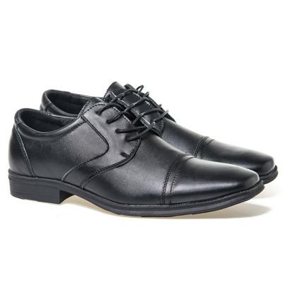 Muške kožne cipele M17080-L crne