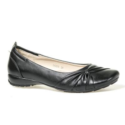Ravne cipele C6020 crne