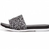 Ravne gumene papuče LP801914 crne
