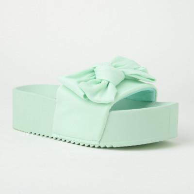 Ravne papuče na debelom đonu LP802104 mint