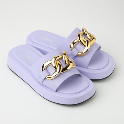 Ravne ženske papuče WL3083 lila