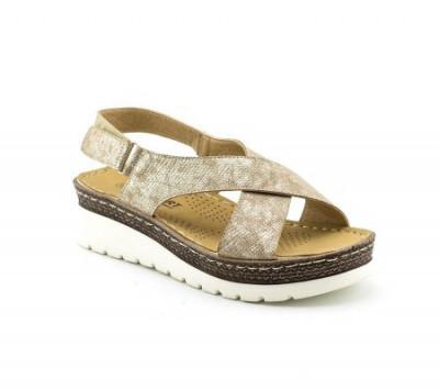 Sandale na debelom đonu LS90086 zlatne