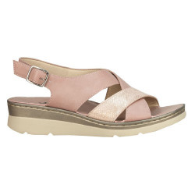 Sandale na ortoped petu F111 roze
