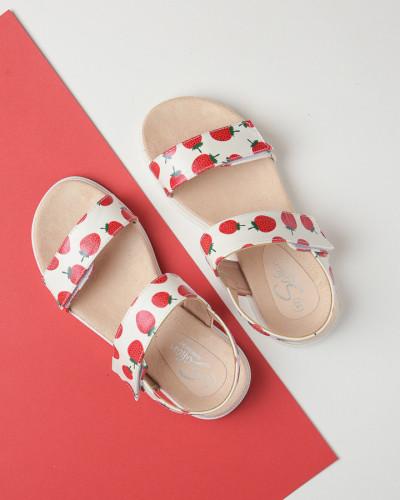 Sandale za devojčice BS252118 bele (brojevi od 25 do 30)