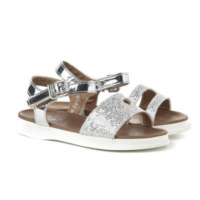 Sandale za devojčice CS272015 srebrne (brojevi od 31 do 35)