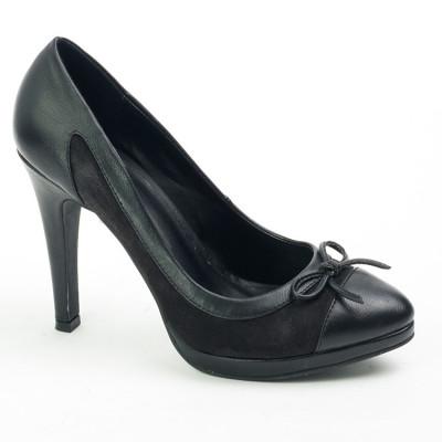 Ženske cipele na štiklu WSH05007 crne