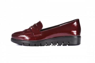 Ženske lakovane cipele L082023 bordo