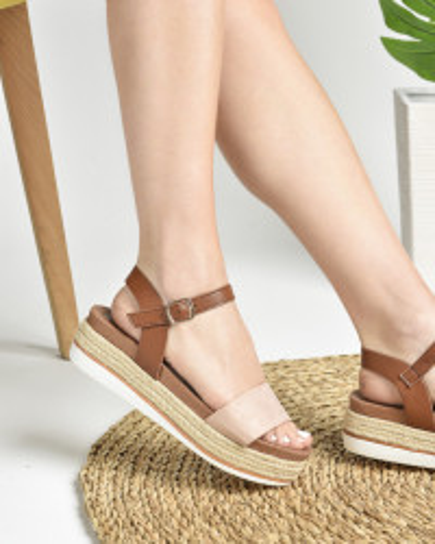 Ženske sandale na debelom djonu LS272002 roze