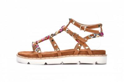 Ženske sandale na debelom djonu LS782102 kamel