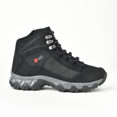 Zimske duboke cipele / patike 4073 crne (brojevi od 36 do 44)