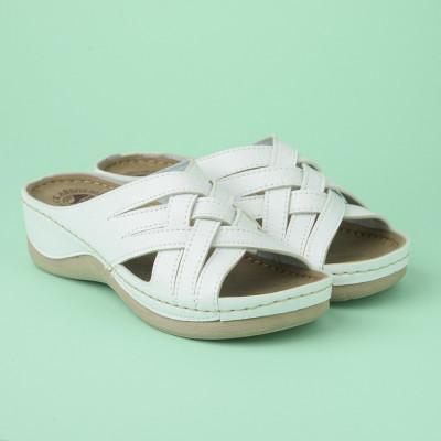 Anatomske papuče 119/2 bele