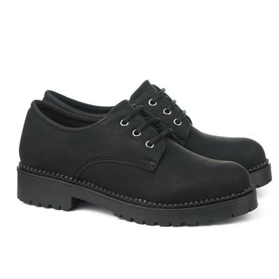 Cipele na pertanje 858 crne