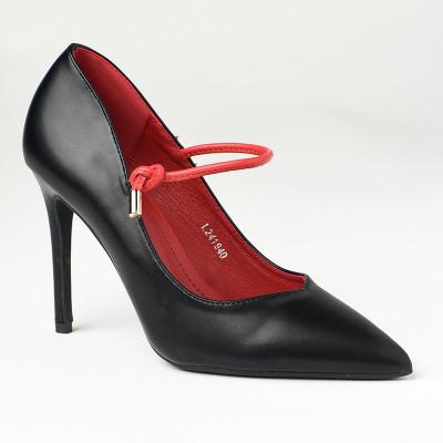 Cipele na štiklu L241940 crne