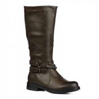 Duboke ženske čizme LX191825 braon