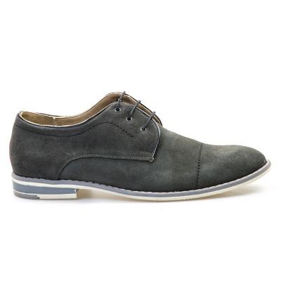 Kožne cipele 4464 sive