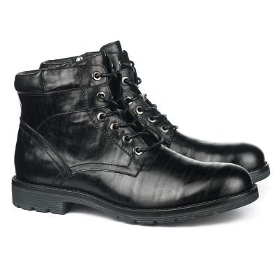 Kožne duboke cipele za muškarce GH151-1-C575 crne