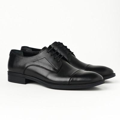 Kožne muške cipele 4058 crne