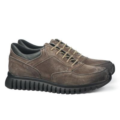 Kožne muške cipele 6408 braon