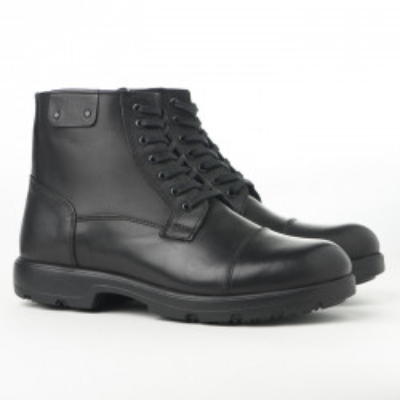 Kožne muške duboke cipele AP2036 crne