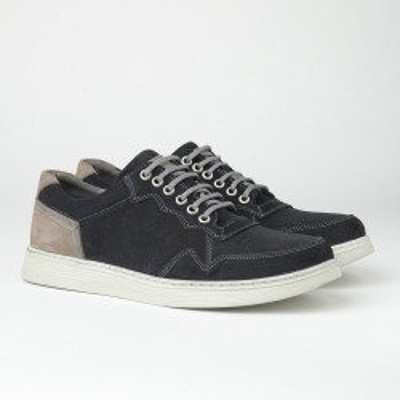 Kožne muške patike/cipele 20410-1 tamno teget