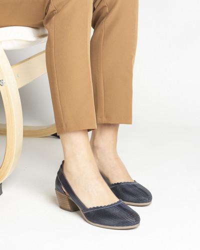 Kožne ženske cipele 1911 teget
