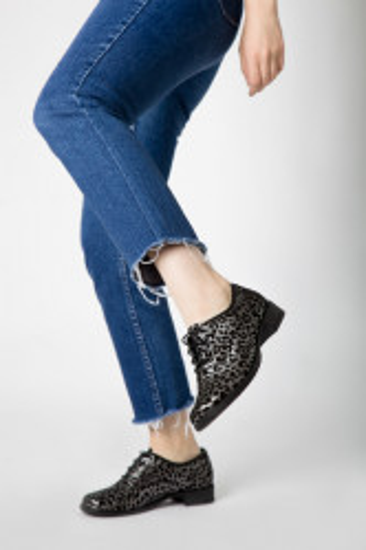 Kožne ženske cipele A13-37/12 crne