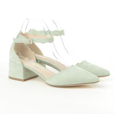 Sandale, cipele na malu štiklu LS772005 mint