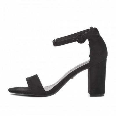 Sandale na štiklu LS241918 crne