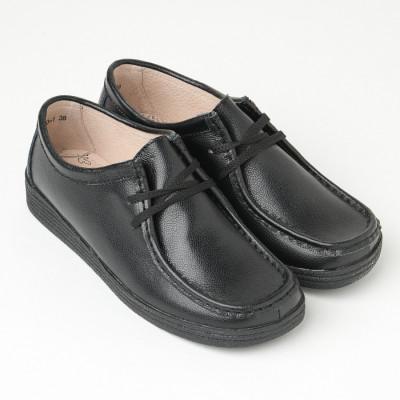 Ženske kožne cipele 1120-1 crne