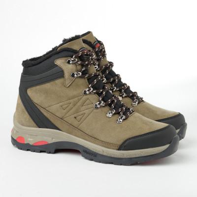 Zimske duboke cipele 10-4076 drap