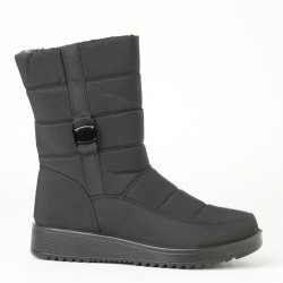 Zimske poluduboke čizme LH060703 crne