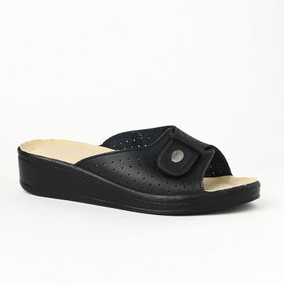 Anatomske papuče MEDICAL 312S crne