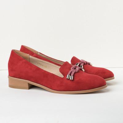 Cipele na malu petu C2118 crvene