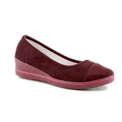 Cipele na ortoped petu L80253 bordo