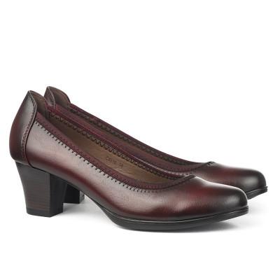 Cipele na štiklu C4816 bordo