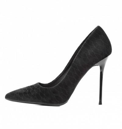 Cipele na štiklu L241915 crne